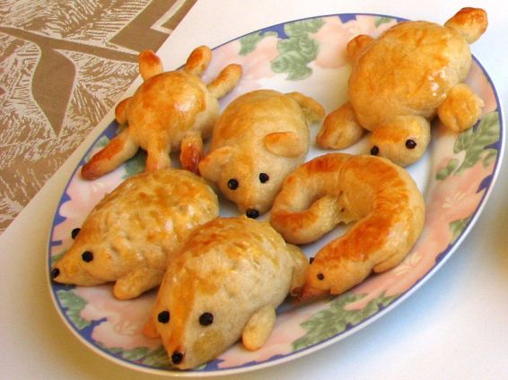 Снимка 2 от рецепта за Животни от тесто