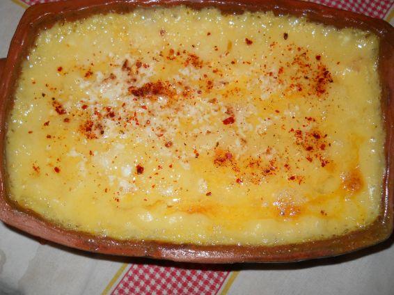 Снимка 4 от рецепта за Качамак с прясно мляко