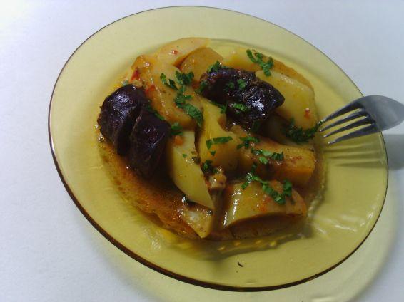 Снимка 2 от рецепта за Картофена яхния