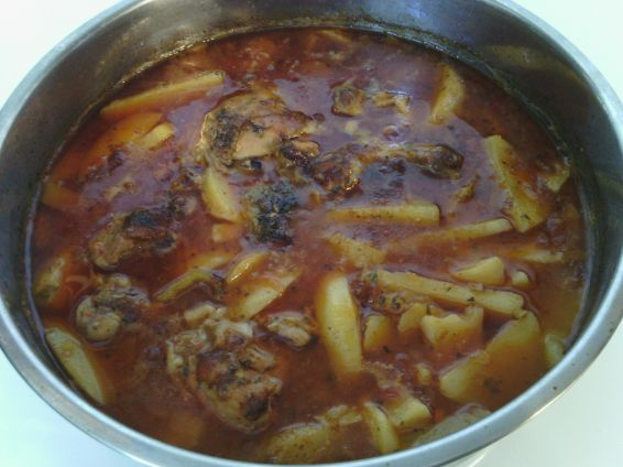 Снимка 3 от рецепта за Картофена яхния