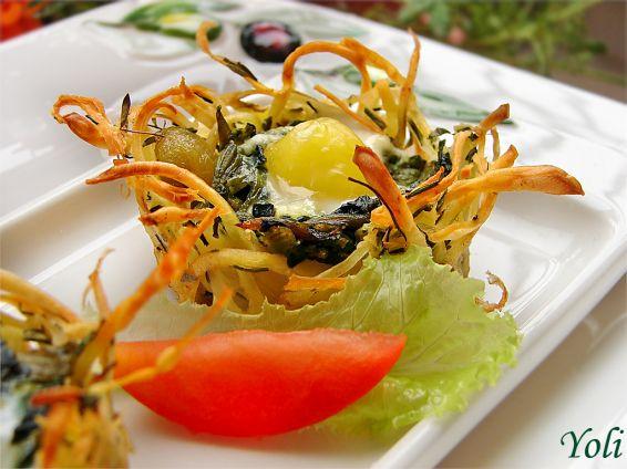 Снимка 1 от рецепта за Картофени гнезда на Йоланта