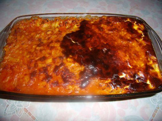Снимка 4 от рецепта за Картофи с кайма