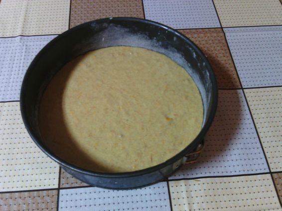 Снимка 1 от рецепта за Кекс с моркови и орехи с коледни мотиви