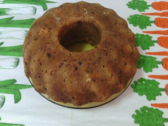 Снимка 2 от рецепта за Кекс със сушени домати и овесени ядки