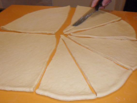 Снимка 1 от рецепта за Вкусни кифли с локум