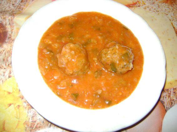 Снимка 4 от рецепта за Кюфтета в доматен сос