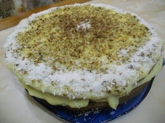 Снимка 9 от рецепта за Кокосова домашна торта