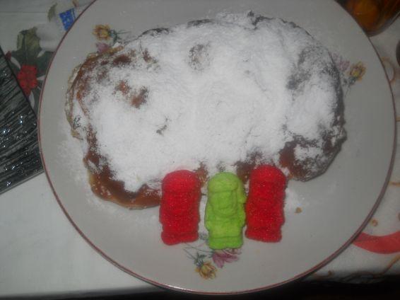 Снимка 4 от рецепта за Коледен щолен