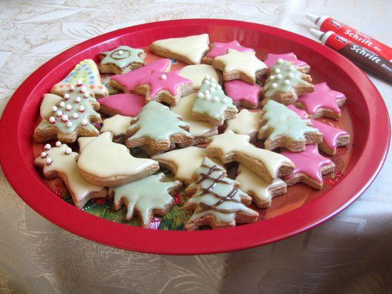 Снимка 6 от рецепта за Коледни сладки с джинджифил и канела