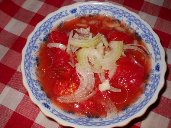 Снимка 2 от рецепта за Консервирани червени домати