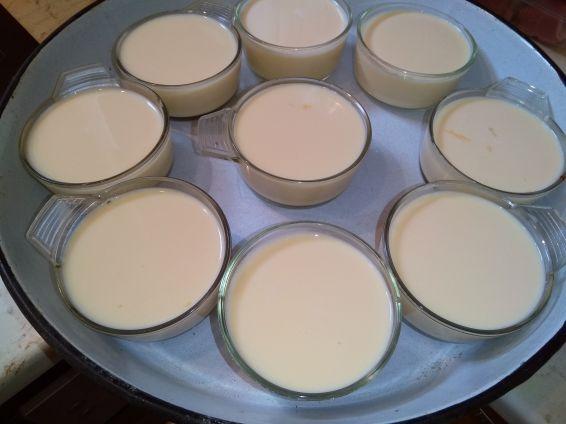 Снимка 11 от рецепта за Крем карамел с карамелена декорация