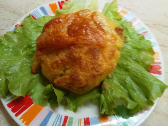 Снимка 13 от рецепта за Кълбенца от картофи, тиквички и извара