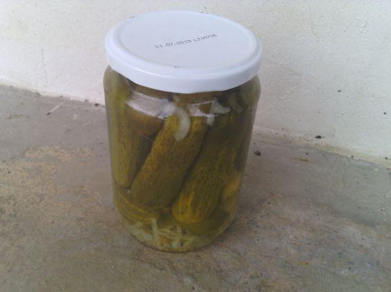 Снимка 6 от рецепта за Мариновани краставички