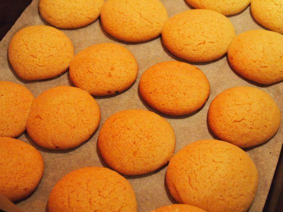 Снимка 2 от рецепта за Меденки с шипков мармалад