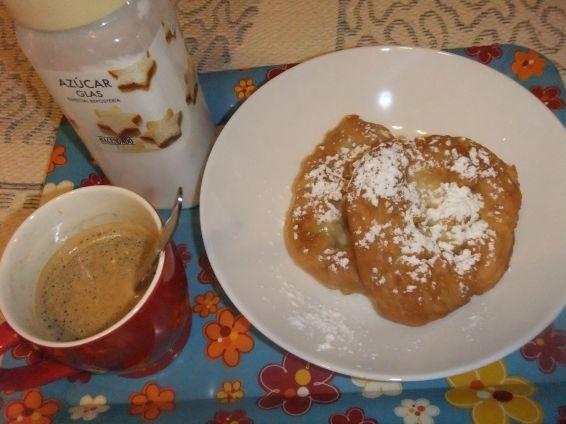 Снимка 4 от рецепта за Мекици с кисело и прясно мляко