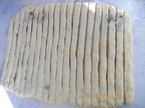 Снимка 3 от рецепта за Мраморно руло
