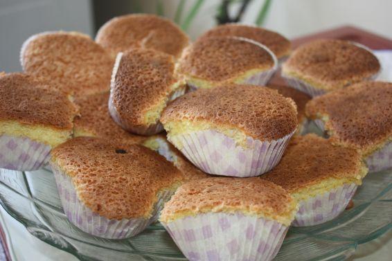 Снимка 5 от рецепта за Мъфини с помело, мандарини и шоколад
