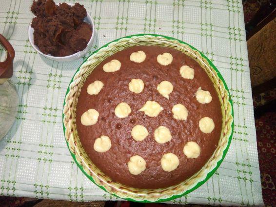 Снимка 2 от рецепта за Надупчен кекс
