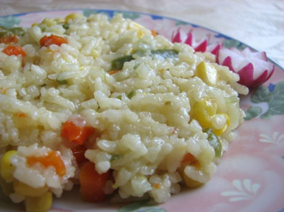 Ориз с готов зеленчуков микс