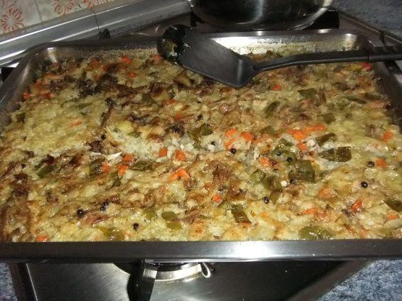 Снимка 4 от рецепта за Ориз с обезкостено пилешко месо