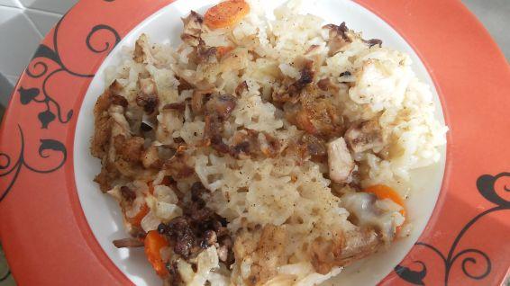 Снимка 5 от рецепта за Ориз с обезкостено пилешко месо