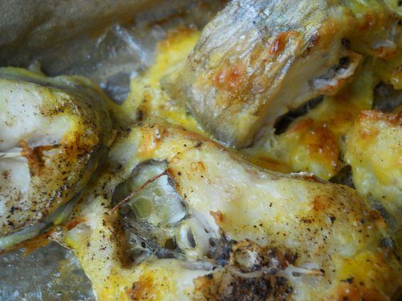Снимка 4 от рецепта за Паниран хек на фурна