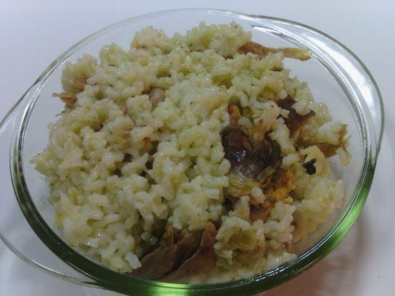 Снимка 9 от рецепта за Пиле с ориз