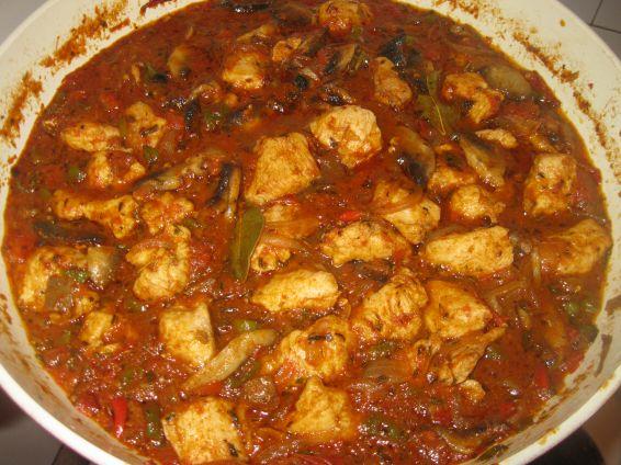 Снимка 2 от рецепта за Пилешка кавърма