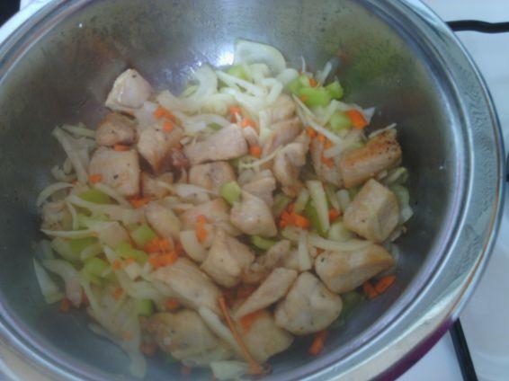 Снимка 3 от рецепта за Пилешка кавърма