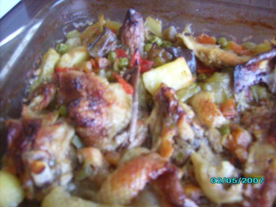 Снимка 3 от рецепта за Пилешки гювеч