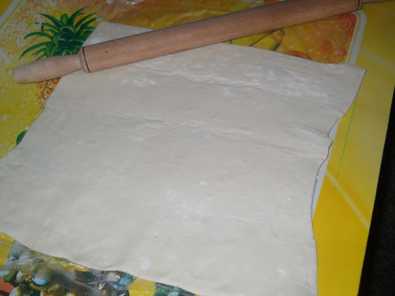 Снимка 4 от рецепта за Пита `Фантазия` от бутер тесто с плънка