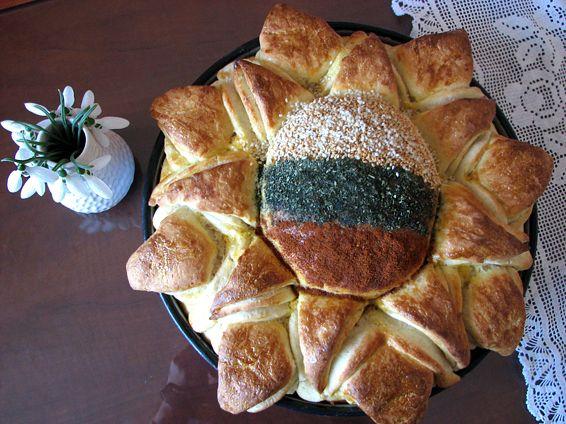 Снимка 2 от рецепта за Пита Слънце за 3-ти март