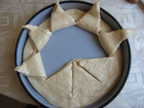 Снимка 3 от рецепта за Пита Слънце за 3-ти март