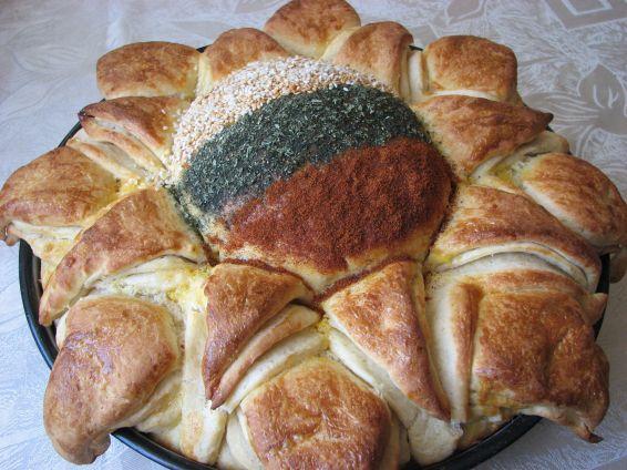 Снимка 8 от рецепта за Пита Слънце за 3-ти март