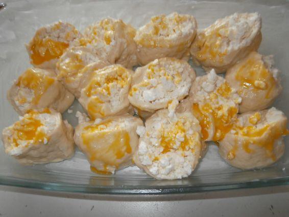 Снимка 2 от рецепта за Питка със сирене