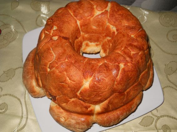 Снимка 3 от рецепта за Питка в кексова форма