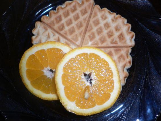 Снимка 2 от рецепта за Портокалови гофрети