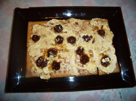 Снимка 3 от рецепта за Постна бисквитена торта