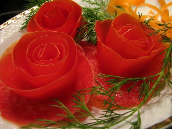 Снимка 2 от рецепта за Розички от домати