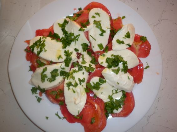 Снимка 5 от рецепта за Салата Капрезе