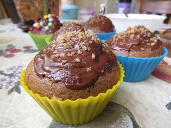 Снимка 4 от рецепта за Шоколадови мъфини - II вариант
