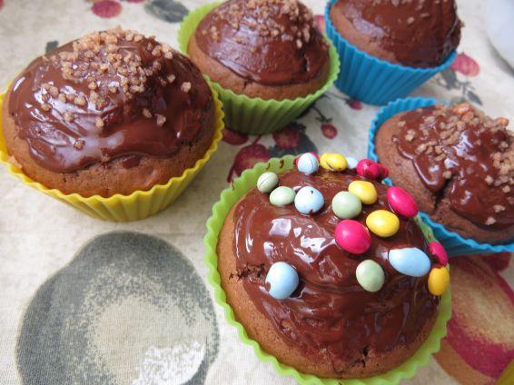 Снимка 6 от рецепта за Шоколадови мъфини - II вариант