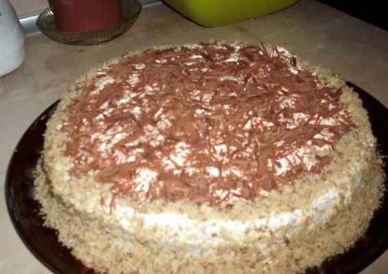 Снимка 2 от рецепта за Сметанова торта