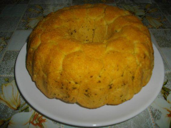 Снимка 2 от рецепта за Солен маймунски хляб