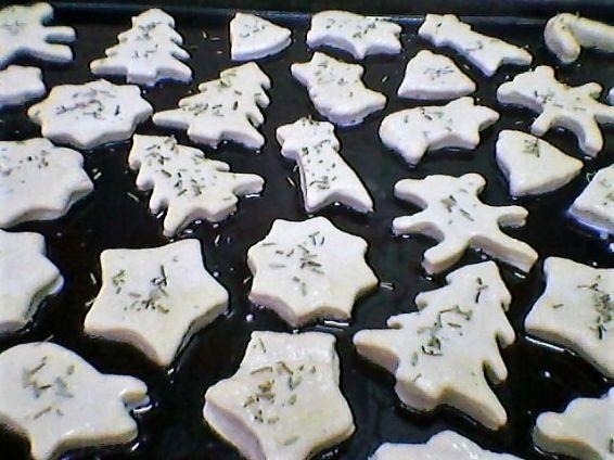 Снимка 2 от рецепта за Солени бисквитки