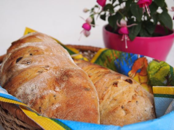 Снимка 3 от рецепта за Средиземноморско хлебче