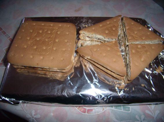 Снимка 4 от рецепта за Сухи пасти с бисквити