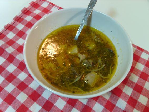Снимка 2 от рецепта за Супа от пиле и зеленчуци