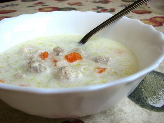 Снимка 1 от рецепта за Супа от свинско обезкостено месо