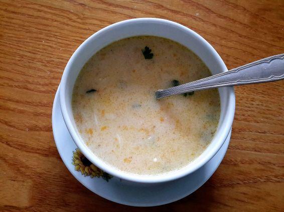 Снимка 3 от рецепта за Супа с прясно зеле